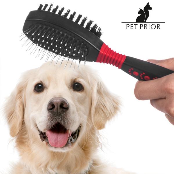 Oboustranný Kartáč na Domácí Zvířata Pet Prior