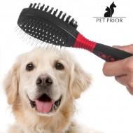 Podwójna Szczotka dla Zwierząt Pet Prior
