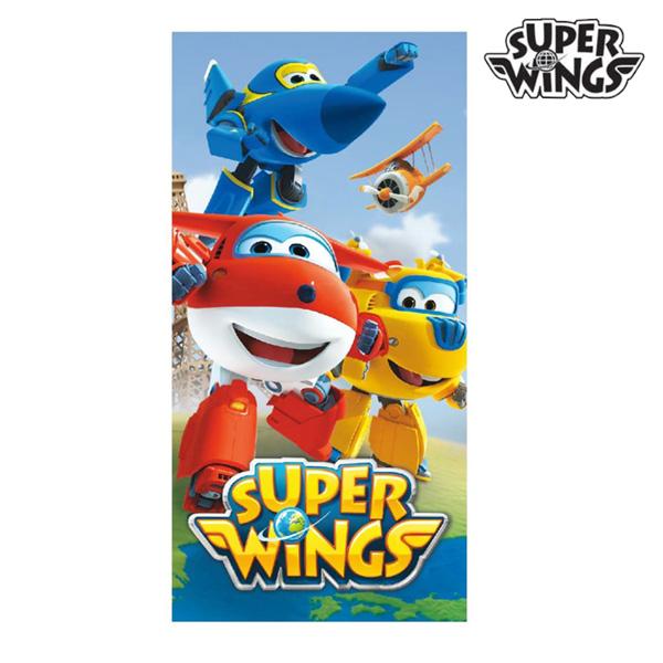 Niebieski Ręcznik Plażowy Super Wings