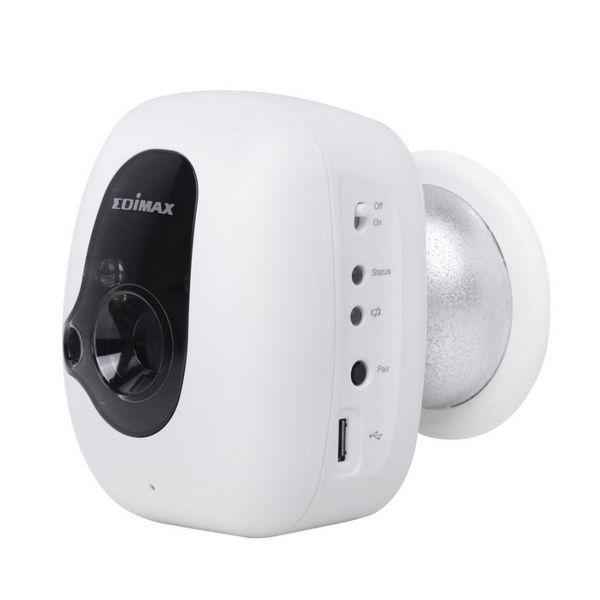 IP Kamera Edimax IC-3210WK (H/V/D): 46,1° / 34,6° / 57,6° IR LED x 2 Přenosný Noční vidění