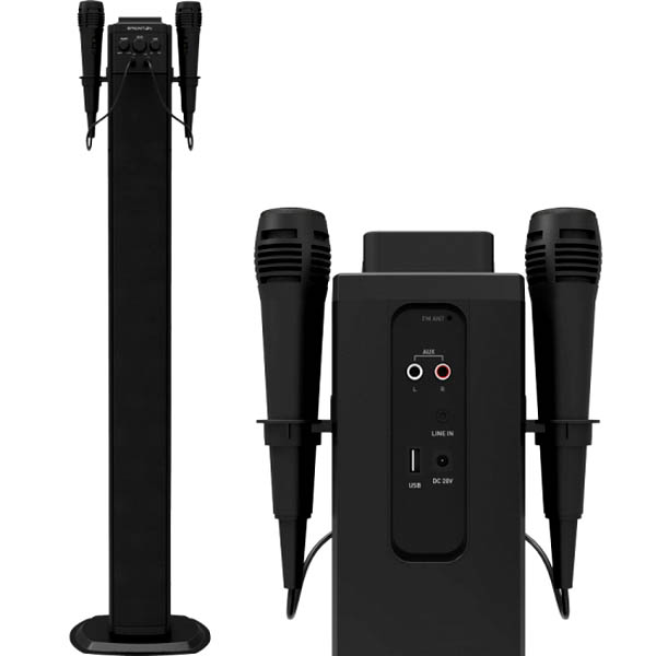 Zvuková věž s Bluetooth BRIGMTON BTW-40K 40W USB Černý