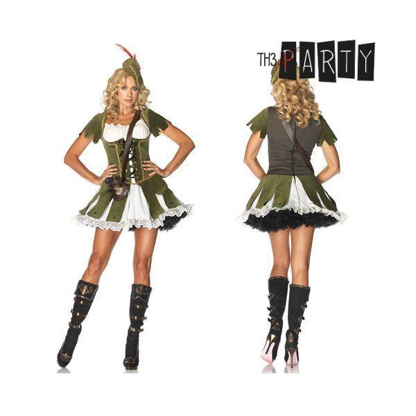 Kostium dla Dorosłych Th3 Party Dama Kolor zielony - S/M