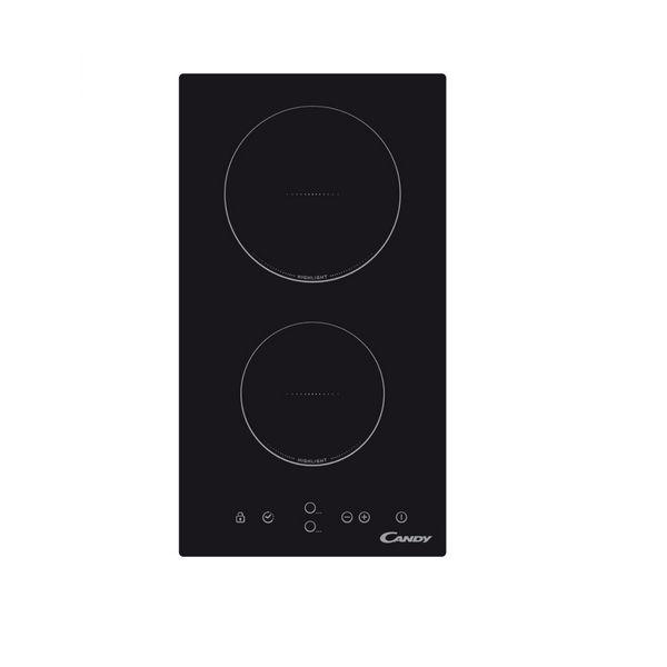 Sklokeramická deska Candy CDH30 55 cm 1800W Černý