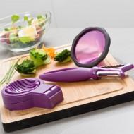 Przybory kuchenne do dekorowania warzyw (3 elementy)