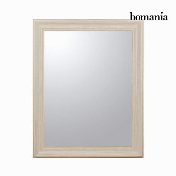 Zrcadlo Dřevo Bílý (100 x 4 x 80 cm) by Homania