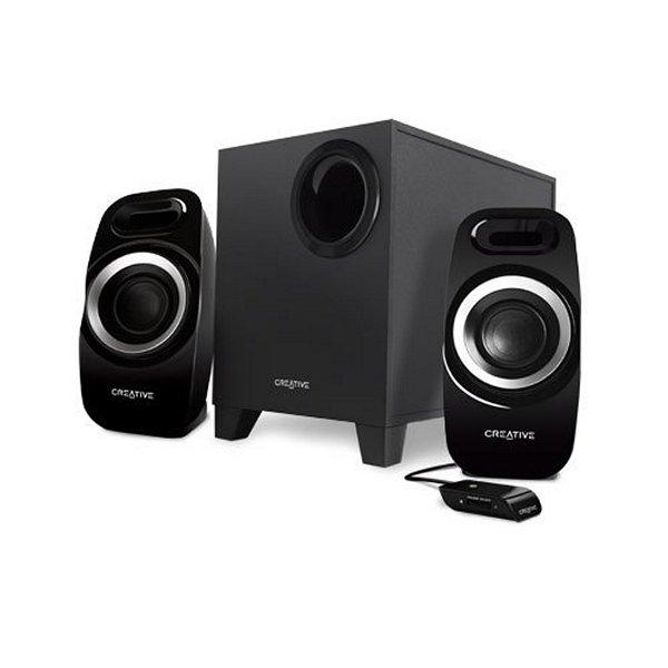 Głośniki Komputerowe Creative Technology T3300 51MF0415AA000 2.1 27W 75 DB Czarny