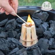 Dřevěný Podpalovač na Gril BBQ Classics