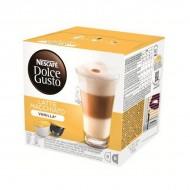 Kávové kapsle s pouzdrem Nescafé Dolce Gusto 70676 Latte Macchiato (16 uds) Vanilka