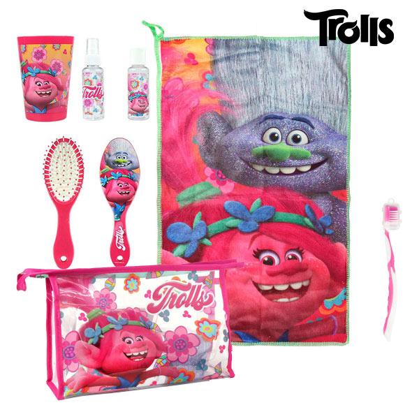 Kosmetická taštička s doplňky Trolls 8874 (7 pcs)