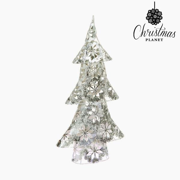 Vánoční stromeček Železo Stříbřitý (25 x 10 x 45 cm) by Christmas Planet
