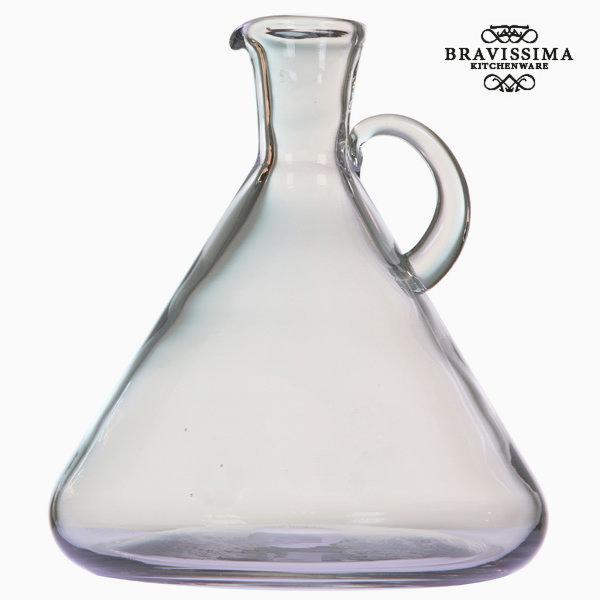 Przezroczysty wazon szklany z uchwytem by Bravissima Kitchen
