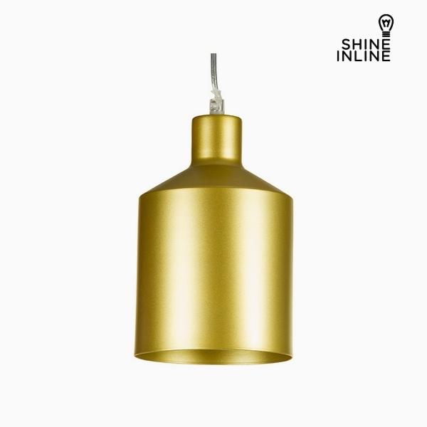 Stropní světlo Zlatá Železo (13 x 13 x 23 cm) by Shine Inline