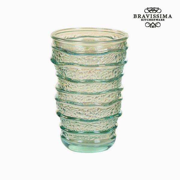 Váza z recyklovaného skla (8 x 8 x 13 cm) by Bravissima Kitchen