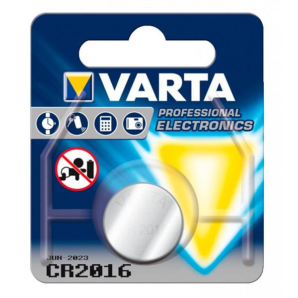 Knoflíková lithiová baterie Varta 220841 3 V Stříbro