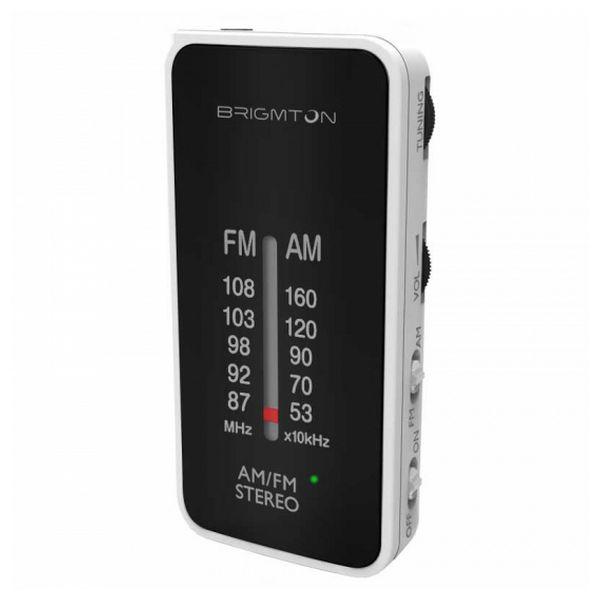 Přenosné rádio BRIGMTON BT224 Bílý