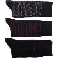 Pánské Nízké Ponožky Emporio Armani 302402-7A282-45235 (3 páry) - Námořnický Modrý