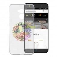 Puzdro na mobil Zte Blade V7 Flex TPU Transparentná Mandala
