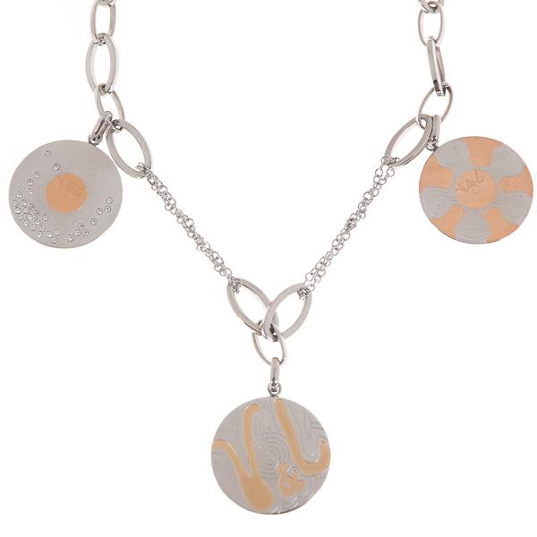 Dámský náhrdelník V&L VJ0196GA