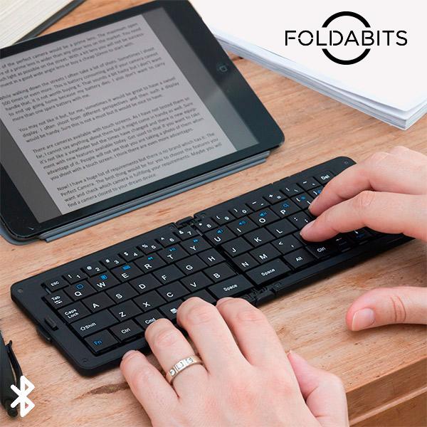 Skládací Bluetooth Klávesnice Foldabits