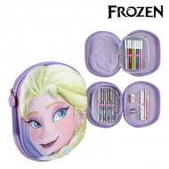 Tripla Tolltartó Frozen 58454 Halványlila