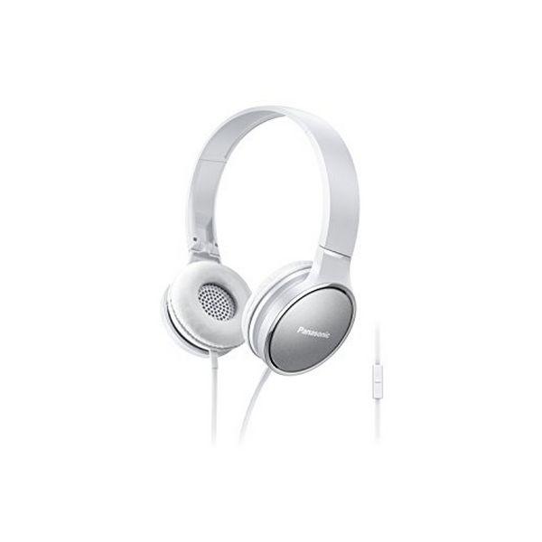 Sluchátka s mikrofonem Panasonic RP-HF300ME Bílý Čelenka
