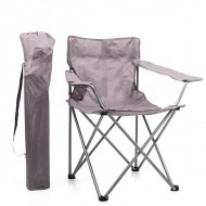Kempinková Skládací Židle - Světle Hnědý