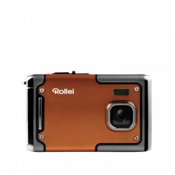 Aparat kompaktowy Rollei Sportsline 85 Pomarańczowy Czarny