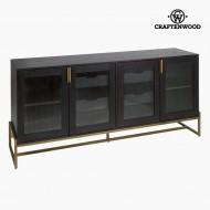 Příborník Hrastovina Mdf (184 X 45 X 84 cm) - Serious Line Kolekce by Craftenwood