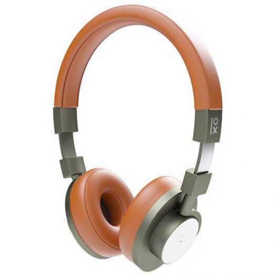 Bluetooth sluchátka s mikrofonem Primux A15 NFC Kaštanová