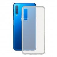 Puzdro na mobil Samsung Galaxy A7 2018 Flex TPU Transparentná