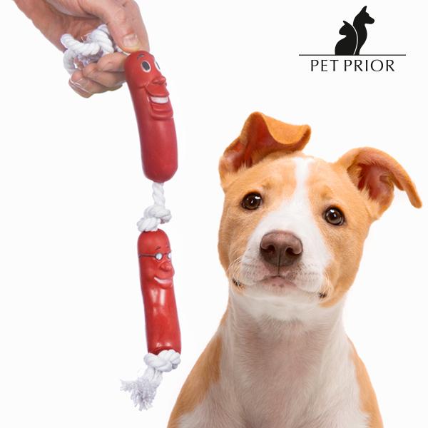 Sznurek z Kiełbaskami dla Psów Perros Pet Prior