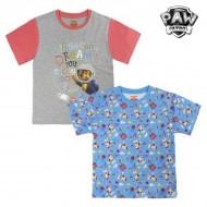 Koszulka z krótkim rękawem dla dzieci The Paw Patrol 6985 Szary (rozmiar 4 lat)