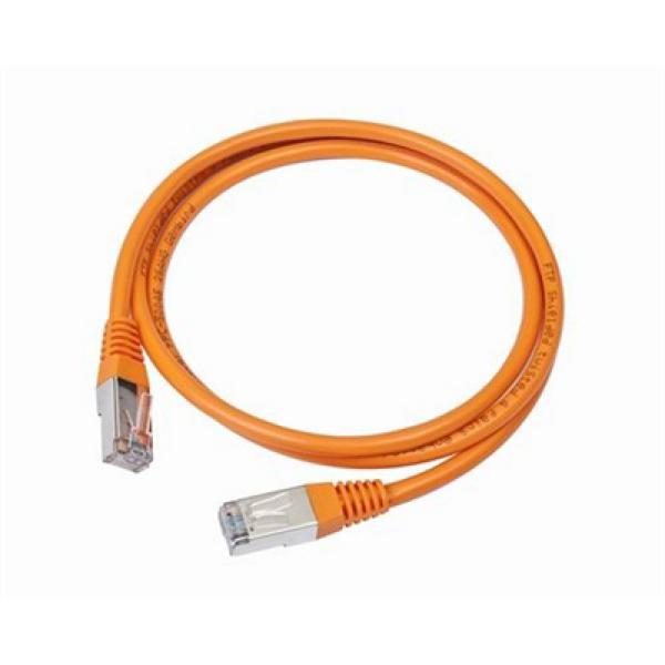 Kabel Kategorie 5e UTP iggual IGG310687 2 m Oranžový