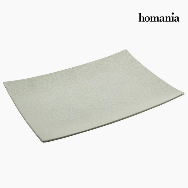 Dekoracja na Stół Ceramika (49 x 36 x 6 cm) by Homania