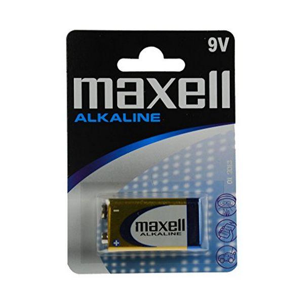 Alkaline Battery Maxell MXBLR6LR61 LR61 9V
