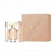 Souprava sdámským parfémem The Scent For Her Hugo Boss (3 pcs)