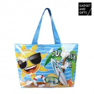 Torba Plażowa Emotikony Summer Time Gadget and Gifts