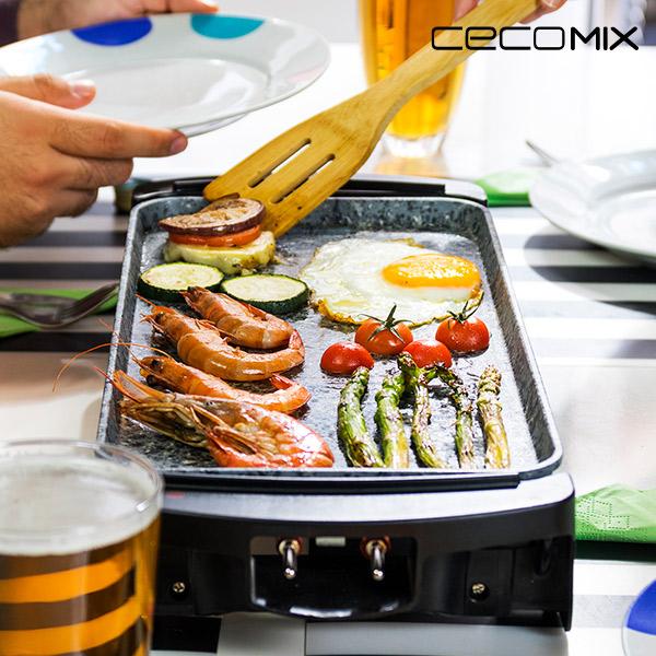 Grill Elektryczny Cecomix Rock 2000 3045 1600W