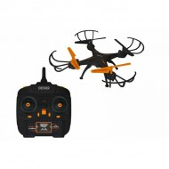 Dron Denver Electronics 222679 380 mAh Czarny Pomarańczowy