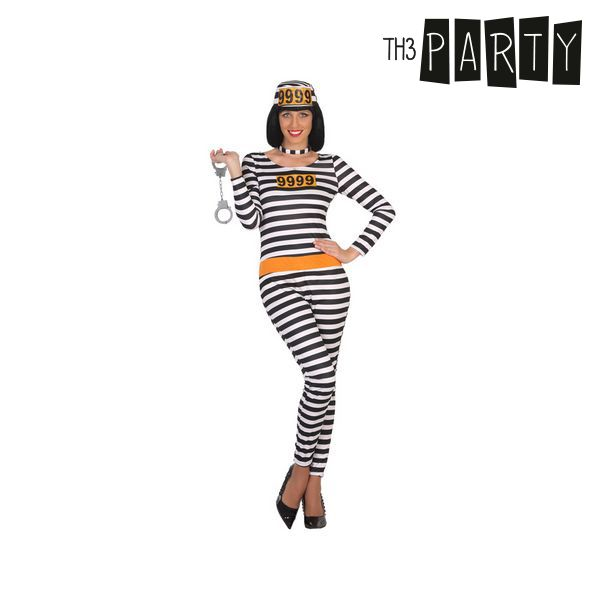 Kostým pro dospělé Th3 Party Vězenkyně - XL