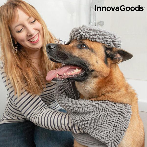 Ultraabsorpční Osuška pro Domácí Zvířata InnovaGoods