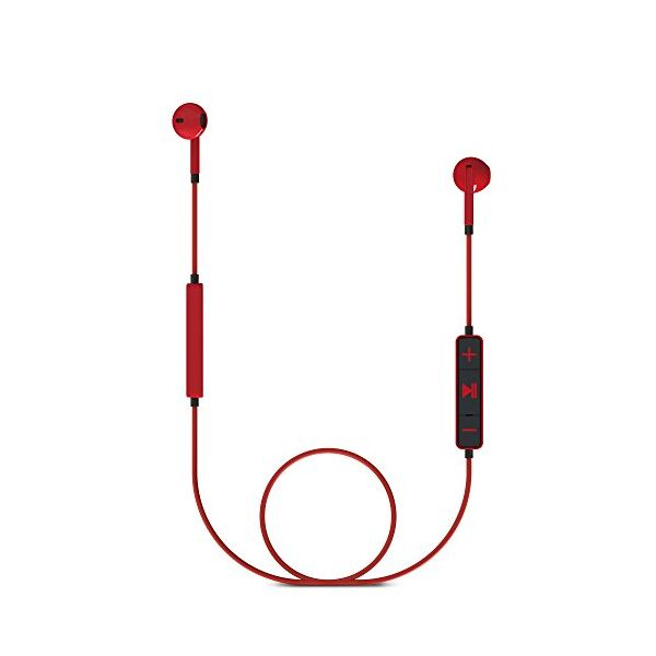 Bluetooth sluchátka s mikrofonem Energy Sistem 428410 V4.1 100 mAh Červený