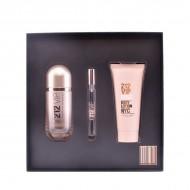 Souprava sdámským parfémem 212 Vip Rosé Carolina Herrera (3 pcs)