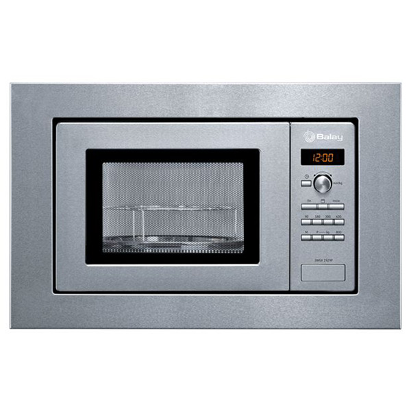 Built-in microwave with grill Balay 3WGX1929P 18 L 800W Nerezová ocel