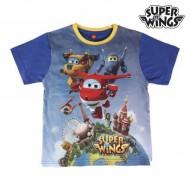 Koszulka z krótkim rękawem dla dzieci Super Wings 235 (rozmiar 4 lat)