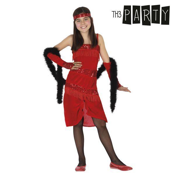 Kostium dla Dzieci Th3 Party Charleston Czerwony - 5-6 lat