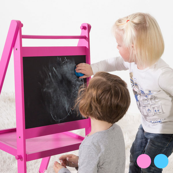 Dvojitá Tabule pro Děti - Růžový