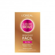 Samoopalovací ubrousky Sublime Bronze L'Oreal Make Up (2 uds)