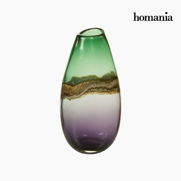 Wazon Szkło (15 x 13 x 30 cm) - Pure Crystal Deco Kolekcja by Homania