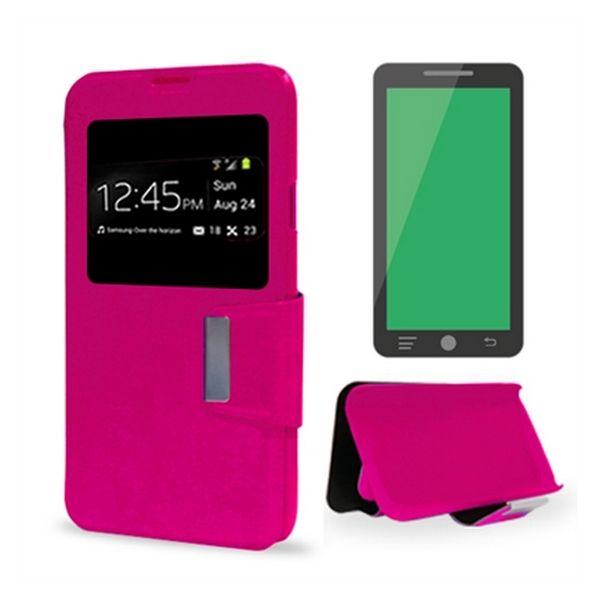 Pouzdro Samsung A5 2016 Ref. 125895 PU Růžový